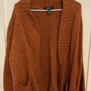 Brown/Orange cardigan
